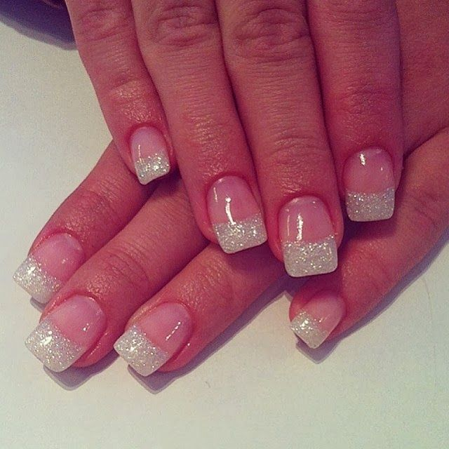 Acrylic Nail Polish- The Top Of The French White Pedicure