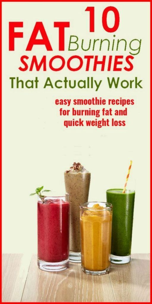 6 Fat Burning Breakfast Smoothies For Weight Loss images