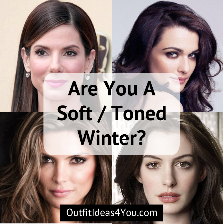 Are You A Toned Winter Soft Winter Your Color Style Deep Winter Colors Seasonal Color Analysis Color Analysis