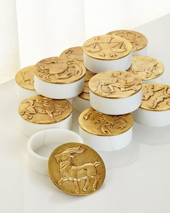 Zodiac+Box,+Aries+and+Matching+Items+by+Michael+Aram+at+Neiman+Marcus.