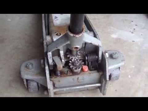 How To Repair A Floor Jack That Leaks Fluid Youtube Floor Jack Car Jack Repair Floors