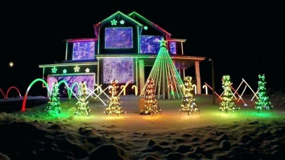 Rope Light Train Christmas Lights Etc Christmas Light Installation Christmas Light Displays Christmas Light Show