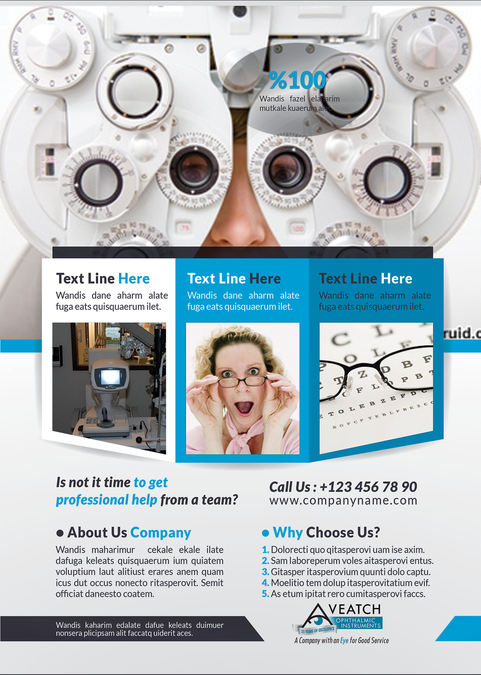 Veatch Ophthalmic Instruments needs a new business or
