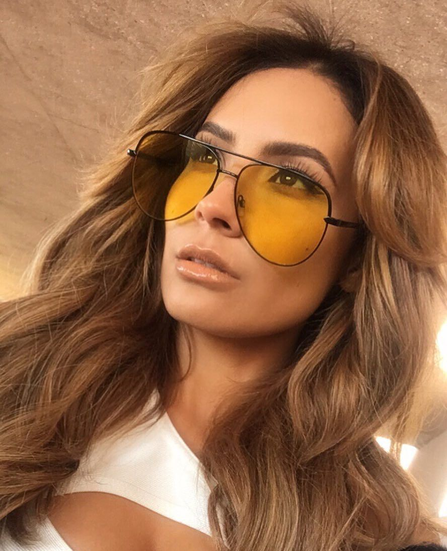 ca9c144f22 Desi Perkins s new Sahara sunglasses collection with Quay Australia is  giving us heart-eyes