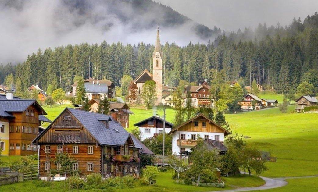 25 Gambar Pemandangan Pegunungan Hd Inilah 9 Gambar Pemandangan Pegunungan Dan Pedesaan Yang Download Gambar Pemandangan Pegunung Di 2020 Pemandangan Gambar Alpen
