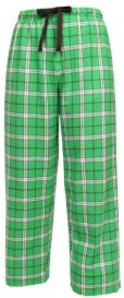 Boxercraft Girls Flannel Plaid Kelly Green Pajama Pants