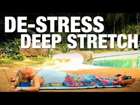 De-Stress, Deep Stretch Yoga Class - Five Parks Yoga