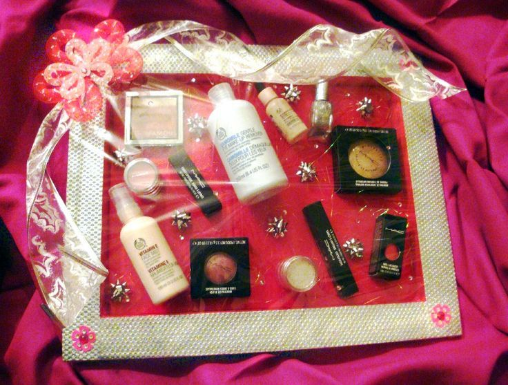 Brides Cosmetics Have To Be Gifted In Style