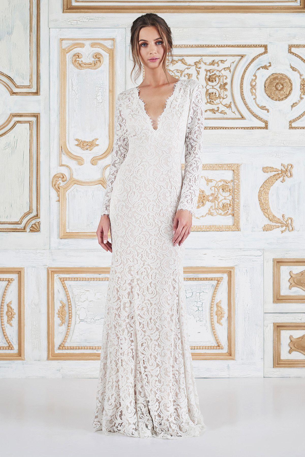 Tadashi shoji bridal esmaralda gown midi wedding dress