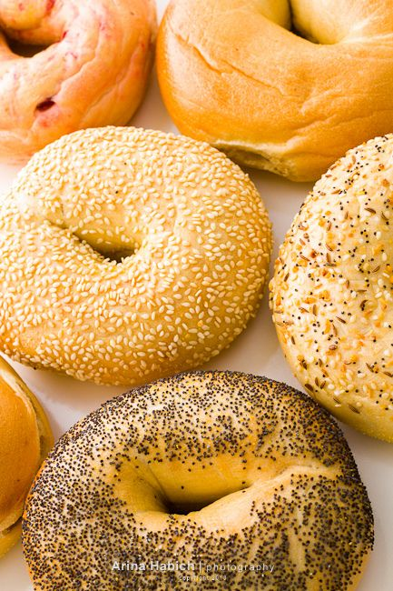 So I just figured out what to do for food when I get married: I love the idea of a morning wedding, like ten in the morning, but the dilemma with that is food. What do you have for a meal at a 10 a.m. wedding when you can't eat most breakfast foods but it's too early or lunch? Well, I just figured it out, a bagel bar. It's the perfect in between for breakfast and lunch.