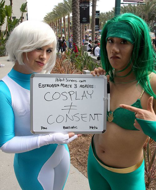 Cosplay Does Not Equal Consent Especially Relevant When Working