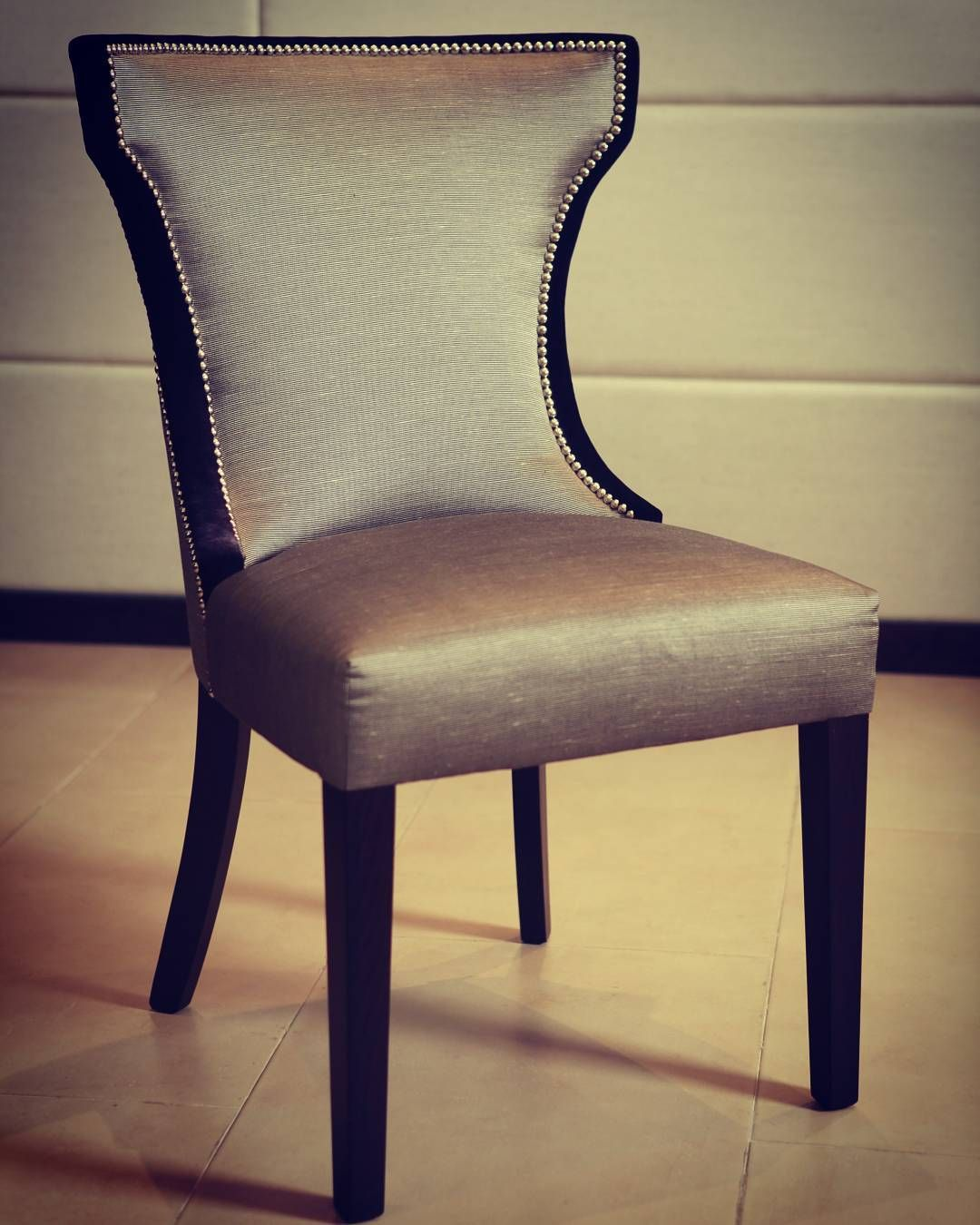 "the ""castle"" dinning chair designed and handmadealsans london"