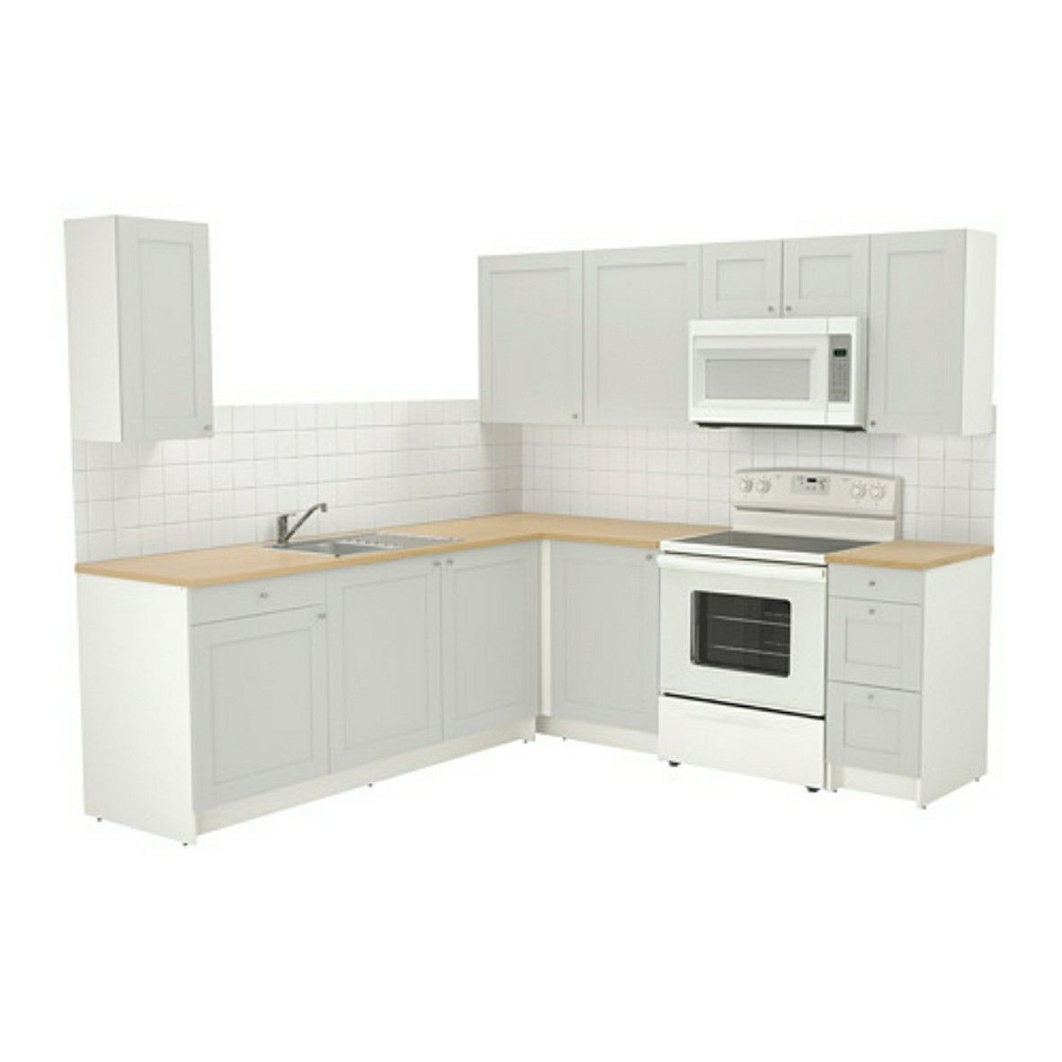 Ikea modular kitchen | New Home | Pinterest