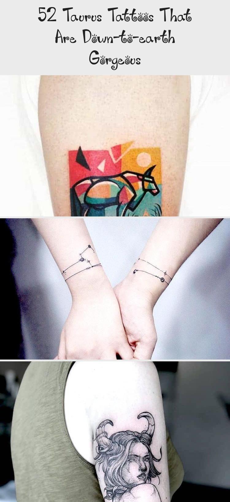 Photo of 52 Taurus Tattoos, die bodenständig und wunderschön sind – Tattoo Ideen, #Downtoearth #Gorgeous #I …