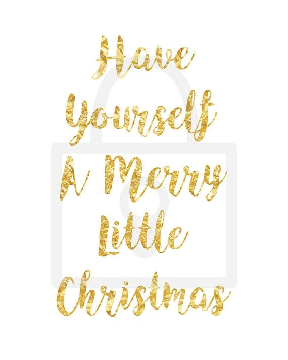 Have Yourself A Merry Little Christmas by LittleBellPrints on Etsy ...