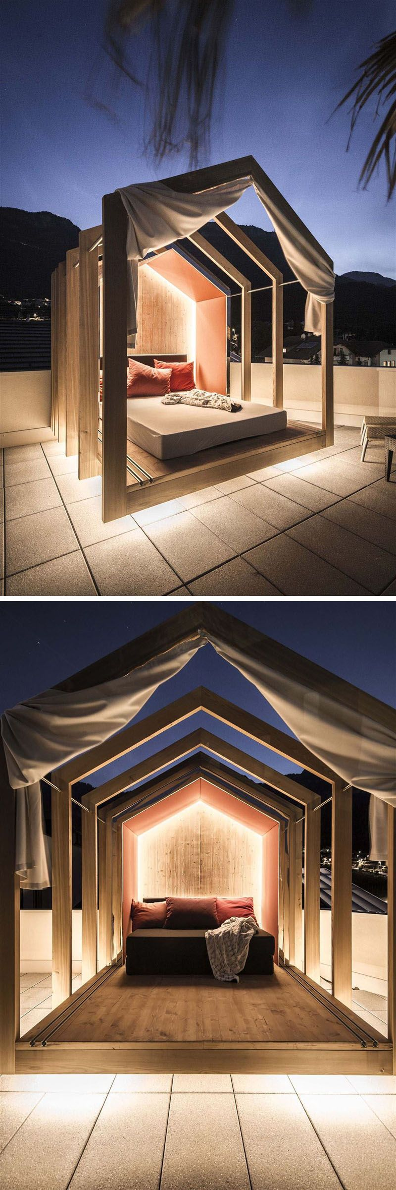 The Rooftop Bedroom At This Hotel Lets You Lie In Comfort When