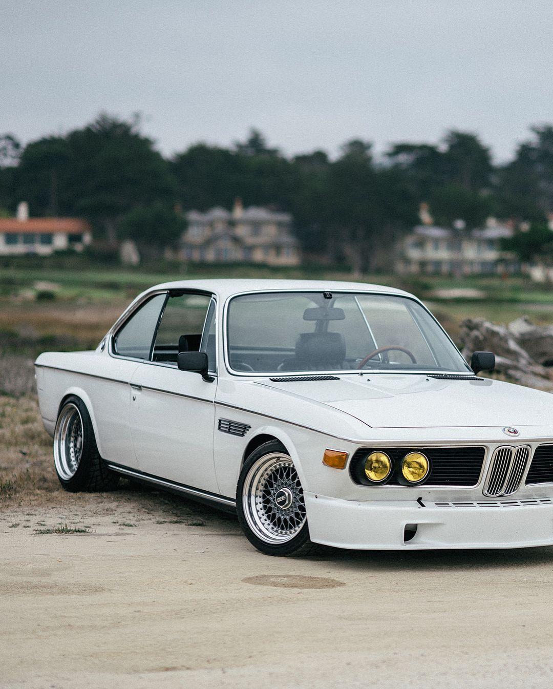 Bmw E9 3 0 Csi White Bmw Classic Cars Bmw Classic Bmw E9