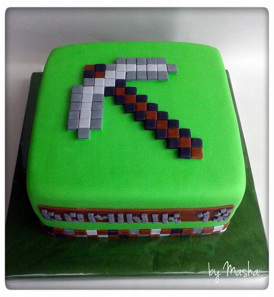 minecraft cake miguel 39 s party ideas pinterest minecraft cake cake and birthdays. Black Bedroom Furniture Sets. Home Design Ideas