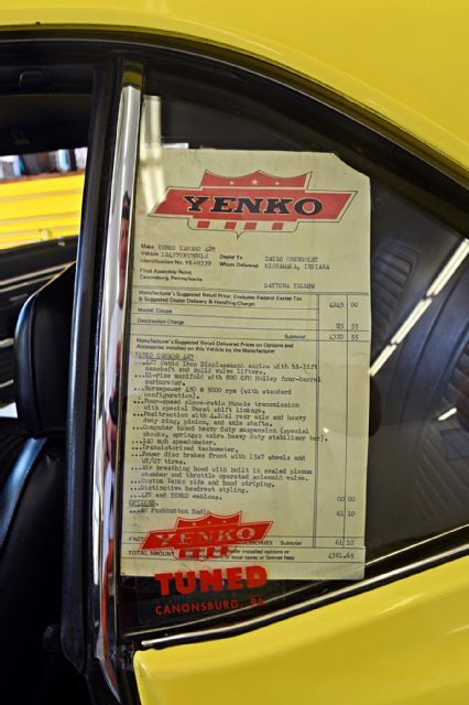 Amazing Unrestored Yenko 1969 Chevrolet Camaro Survives Its Street Racing Past Unscathed And With Its Born With Big