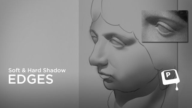 Digital Painting - Hard and Soft Shadow Edges by matt kohr. For additional free…