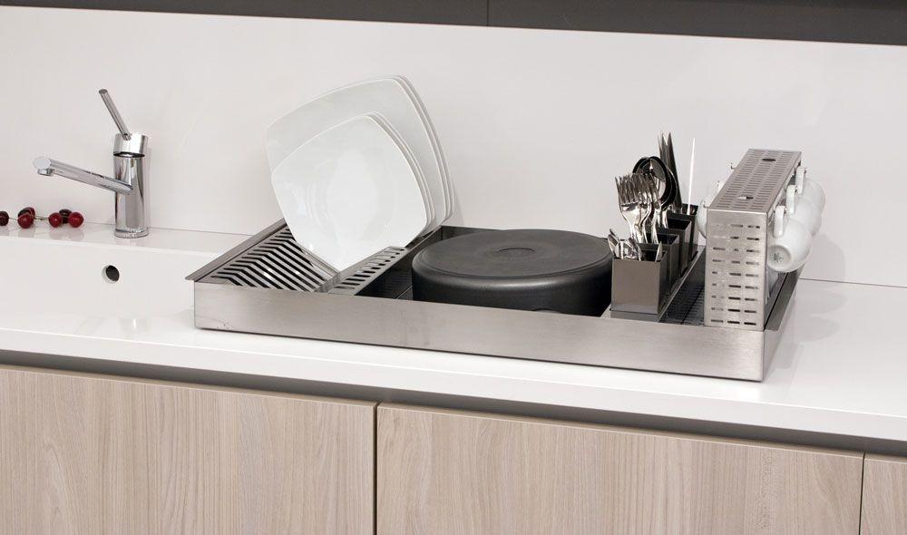 Credenza Con Scolapiatti : Scolapiatti da appoggio in acciaio cerca con google kitchen