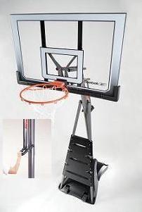 finest selection 30dd6 ebfbf SO Reebok Revolution 51563 Portable Basketball System Goal Hoop