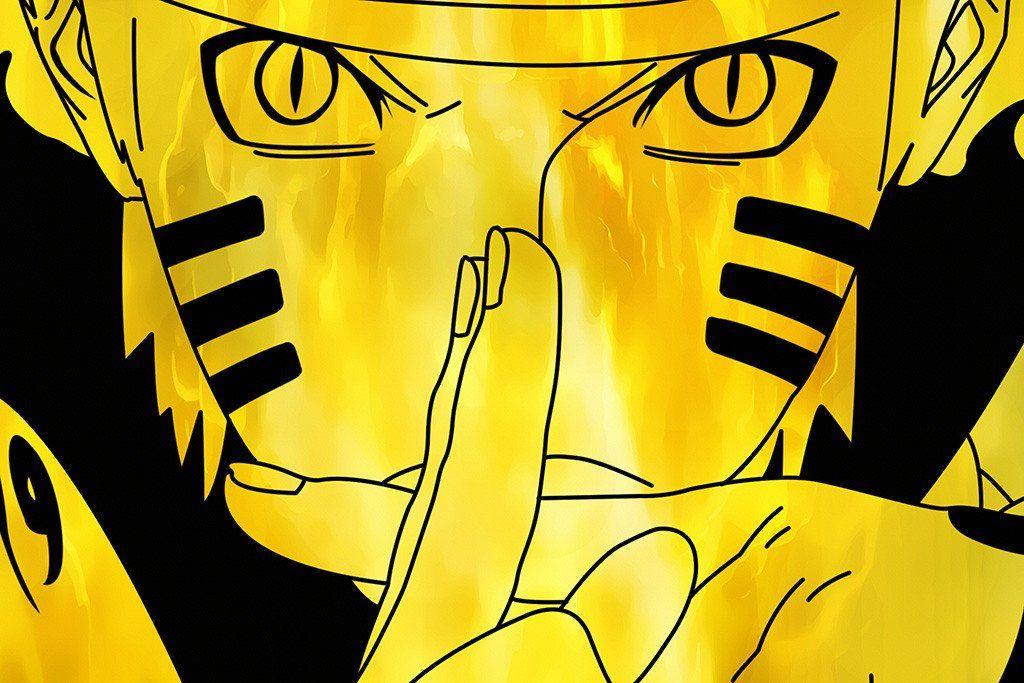 Naruto Uzumaki Yellow Anime Poster Naruto Wallpaper Anime Wallpaper Live Wallpaper Naruto Shippuden