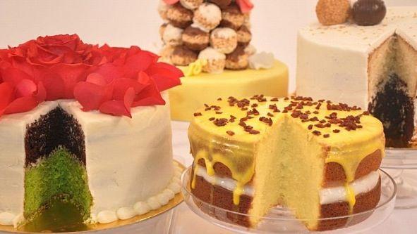 Large Chocolate And Pistachio Cake Mehalbyah Cake Crispy Tower كيكة الشوكولاته و الفستق كيكة المهلبيه كرسبي تاور Desserts Food Cake