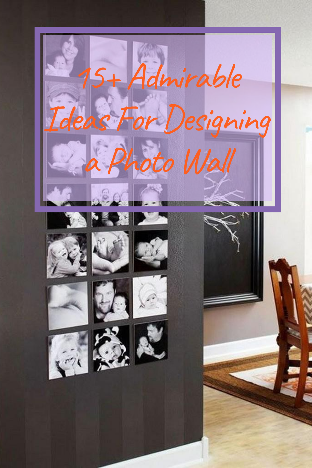 18 Admirable Ideas For Designing A Photo Wall Design Home Decor Decals Decor