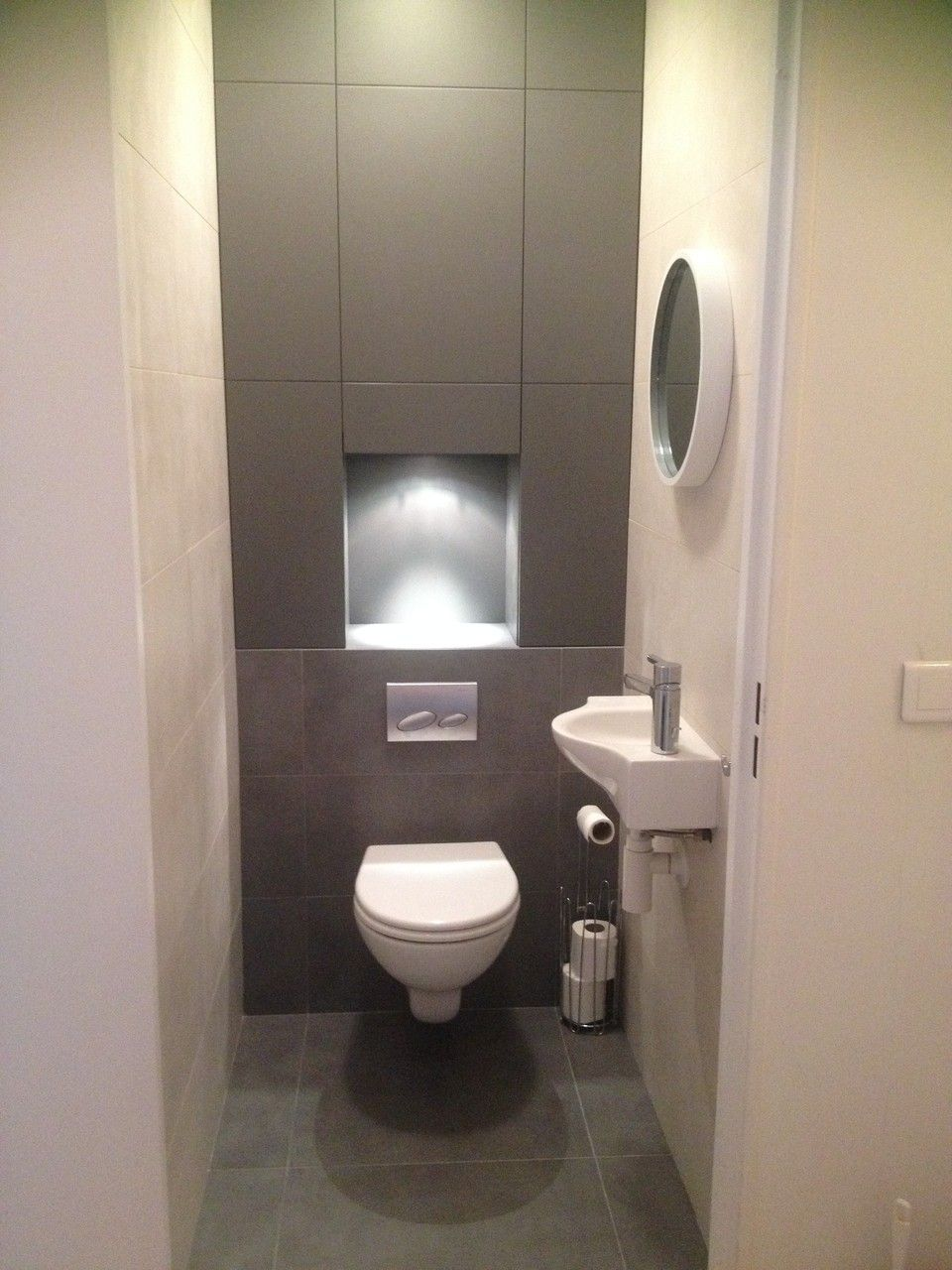Niches Sur Mesure En 2019 Amenagement Toilettes Toilettes