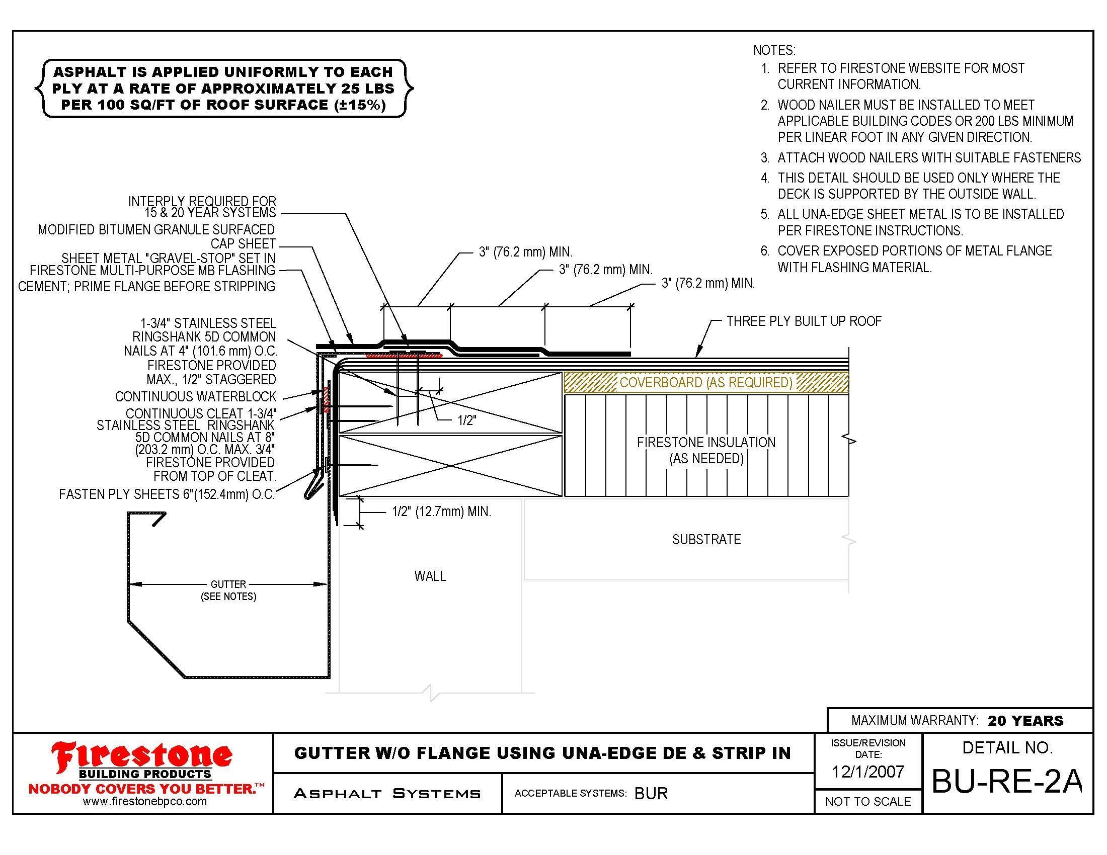 Best Metal Decking Roof Detail Built Roofing Firestone Building 640 x 480
