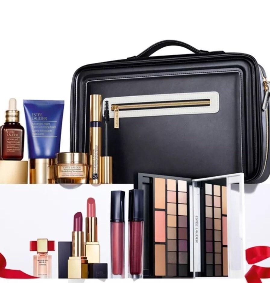 Estee Lauder Holiday Blockbuster Makeup Kit Limited Edition Gift Set 385 Value Health Beauty Makeup Makeup Sets Ki Estee Makeup Gift Sets Estee Lauder