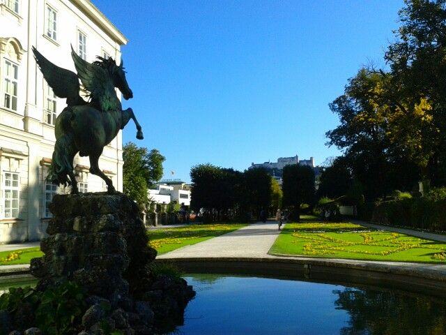#WL Über 20º in Salzburg. Nach dem nicht vorhandenen Sommer zeigt wenigstens der Herbst sein schönstes Gesicht!