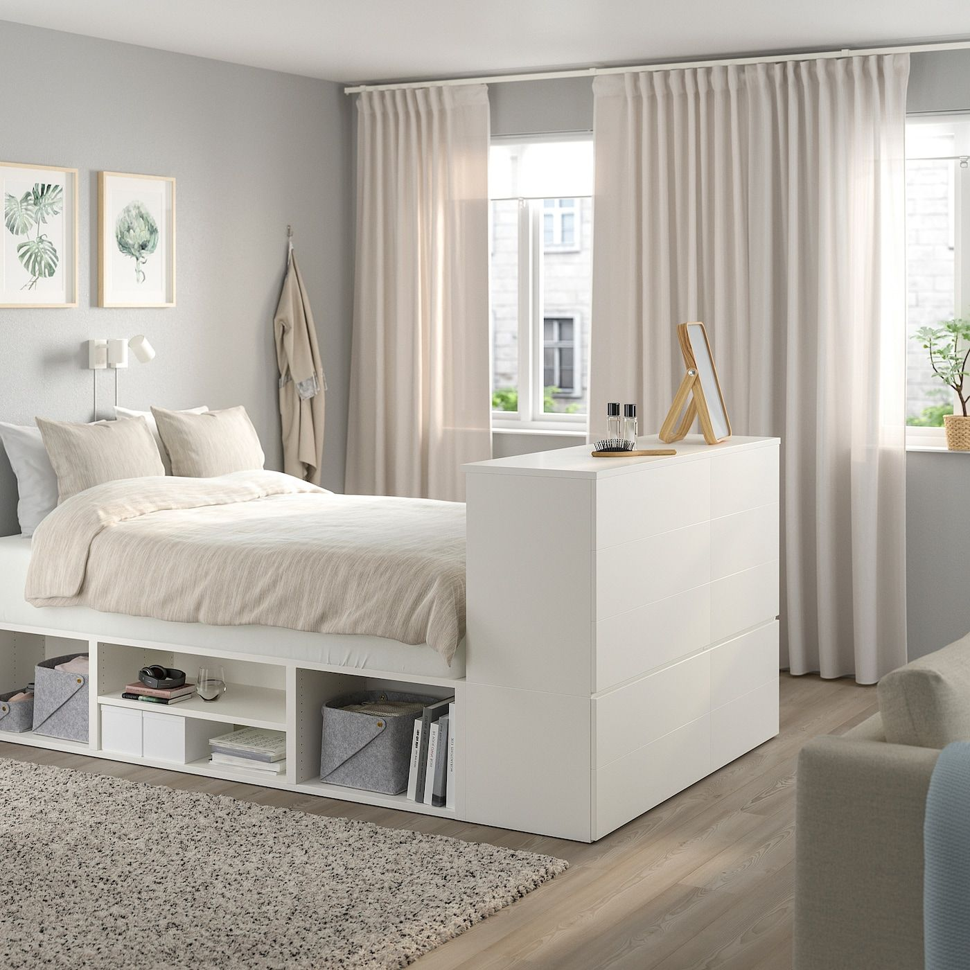 Pin On Groots Leven In Klein Huis Ikea platsa bedroom ideas