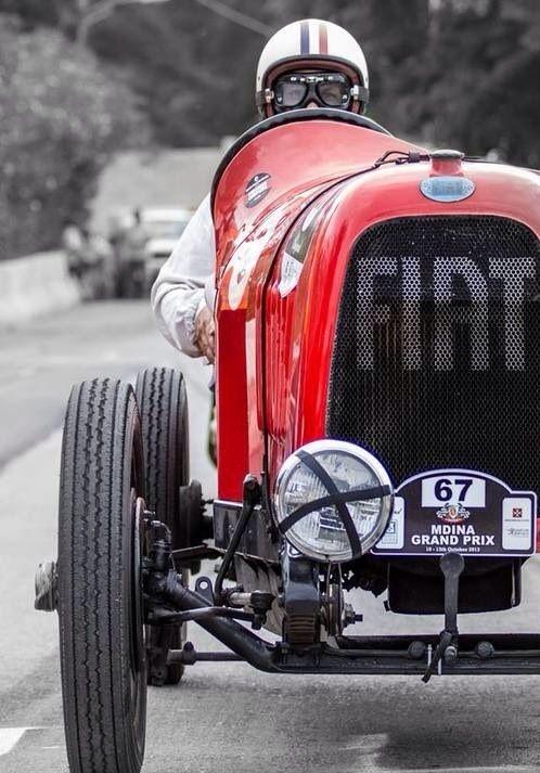 Old but Gold Fiat #race #car #vintage