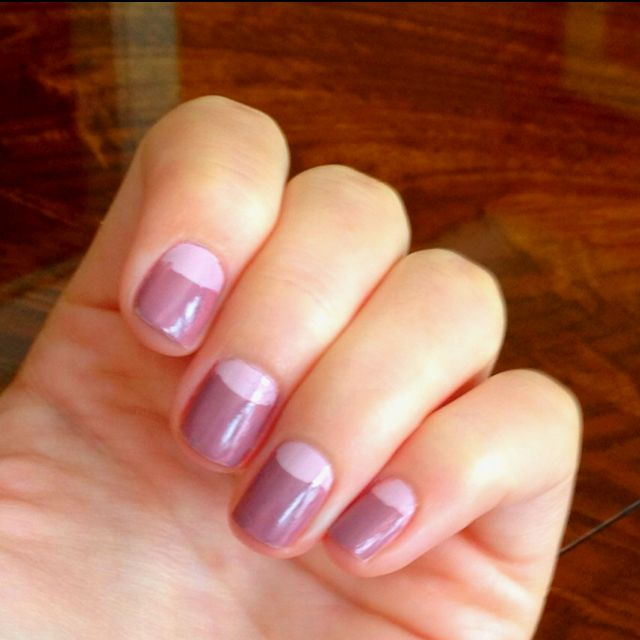 """My own try at """"pinterest nails"""" ;)"""