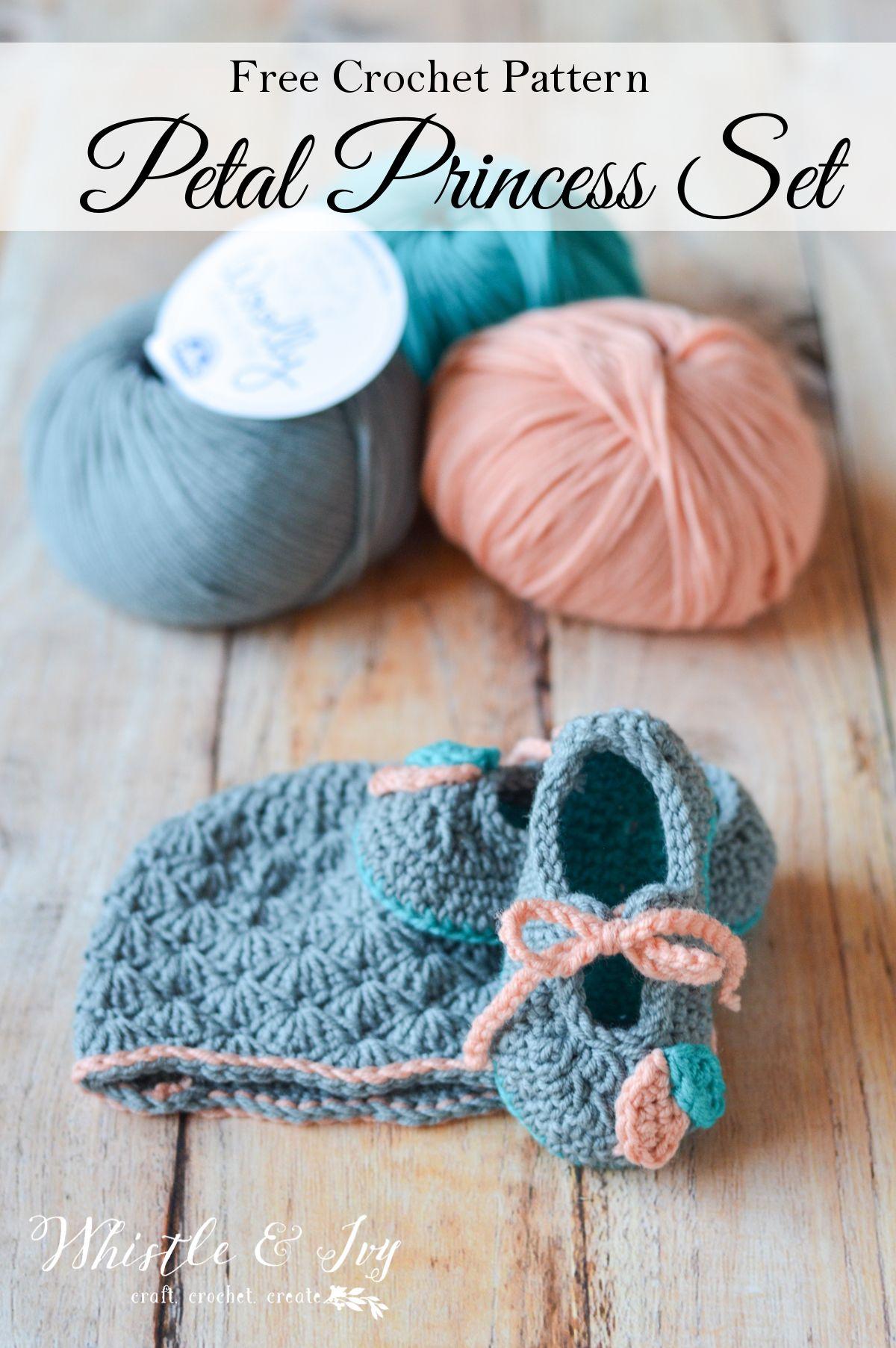 Crochet Petal Princess Baby Set | Ganchillo, Bebé y Bebe