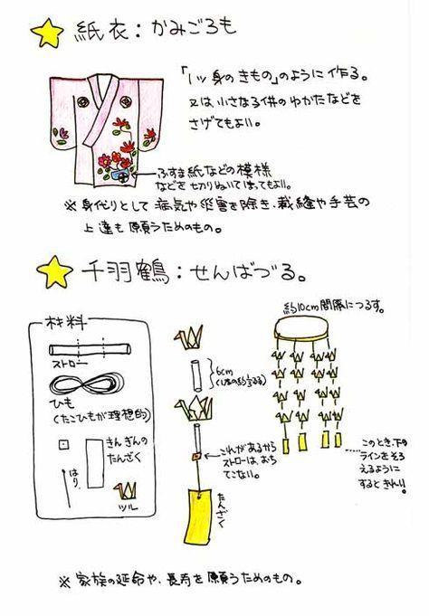 仙台七夕の作り方 Tanabata Japan Japanese