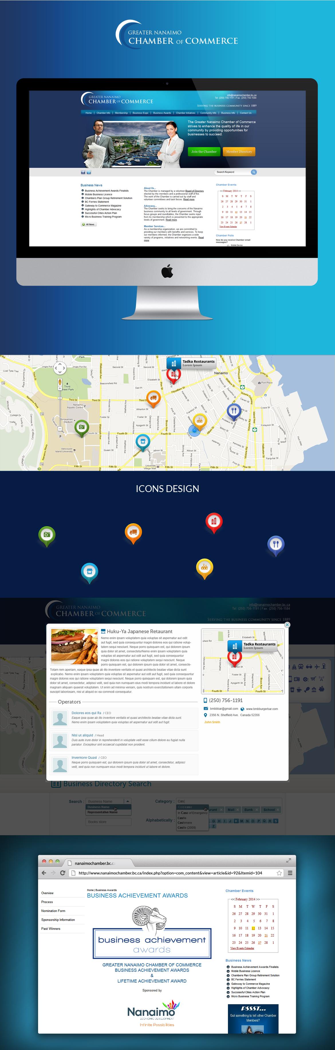 Greater Nanaimo Chamber Of Commmerce Web Development Design Joomla Web Design