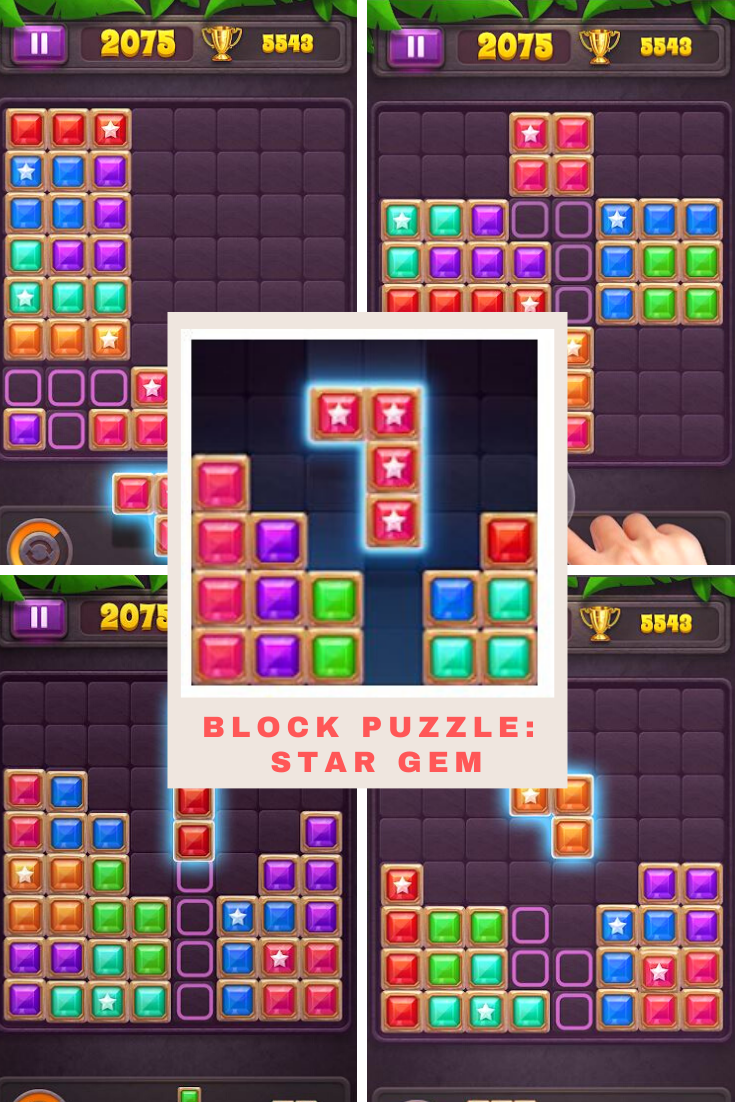 Block Puzzle Game for Android in 2020 Block puzzle game