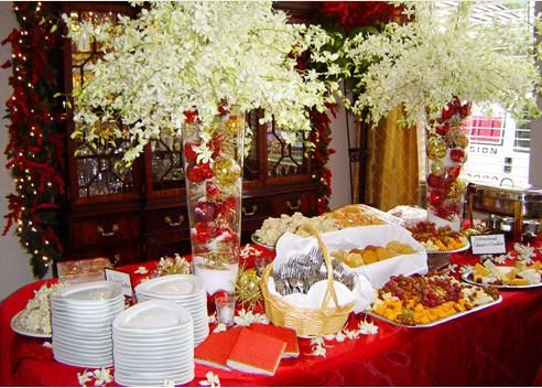 Our Work Is Involved In Indian Wedding Functions And Catering Services In The Form Of Wedding Functi Christmas Buffet Table Christmas Catering Christmas Buffet