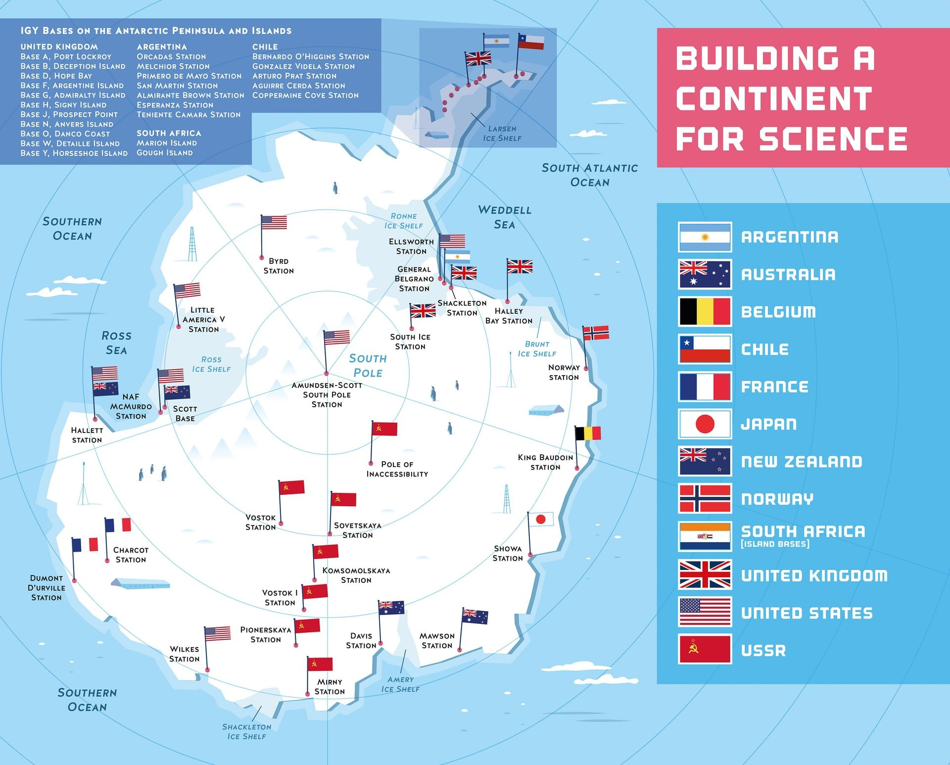 Bases in Antarctica (With images) Antarctic