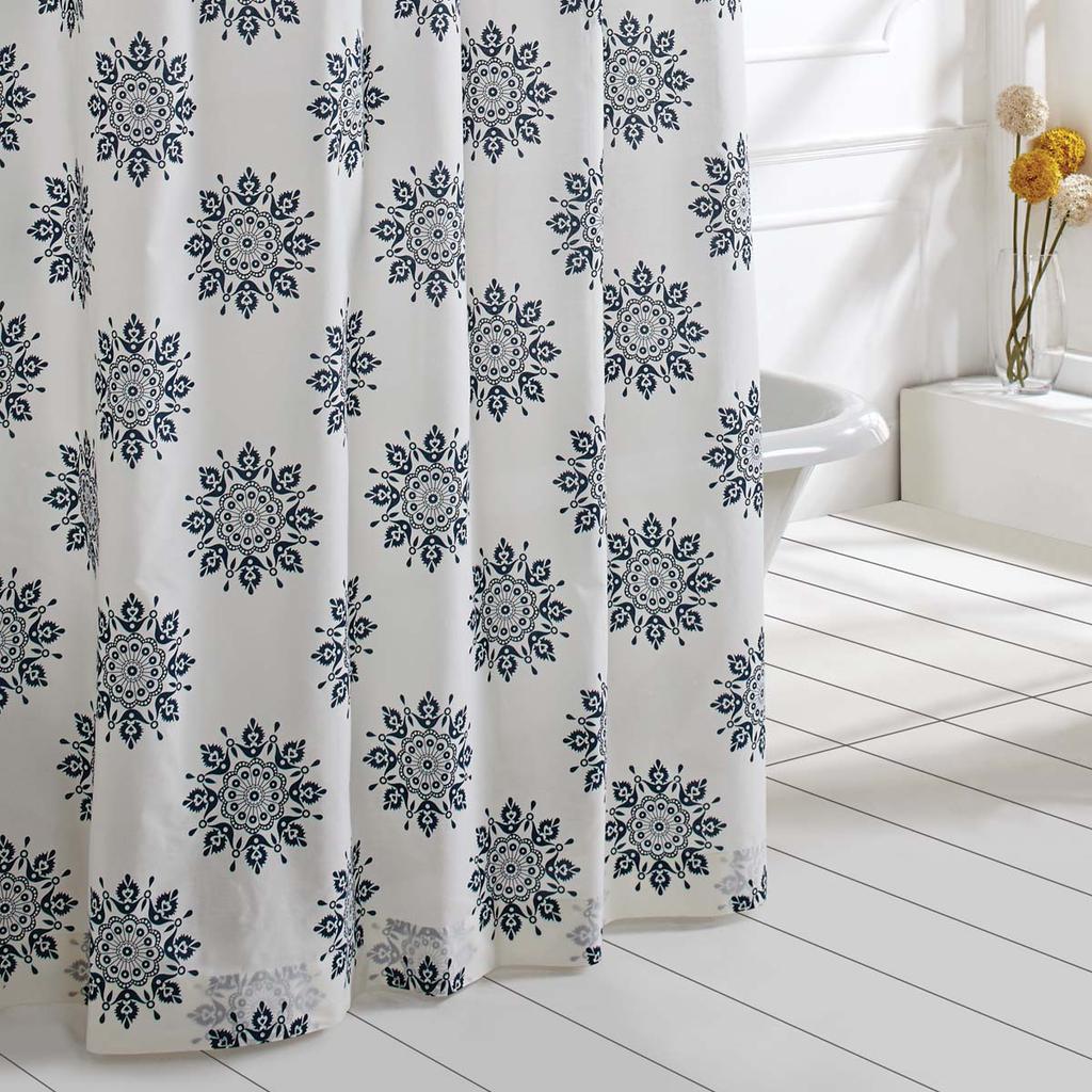 Mariposa Indigo Shower Curtain Cute Shower Curtains Unique
