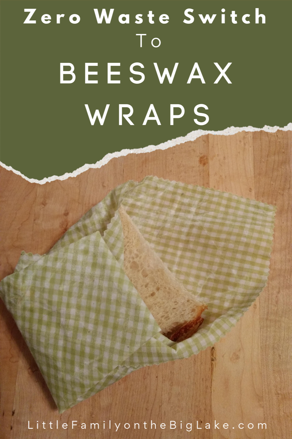 Ditch the plastic wrap and try these Beeswax wraps instead. They are easy to make at home, give these a try! #beeswaxwraps