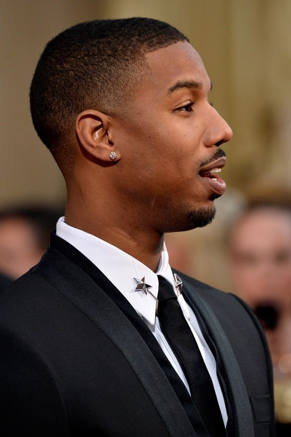73b6b354dd0ee Michael B Jordan new haircut