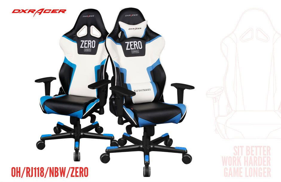 Magnificent Dxracer Oh Rv118 Nbw Zero High Back Gaming Chair Carbon Look Pdpeps Interior Chair Design Pdpepsorg