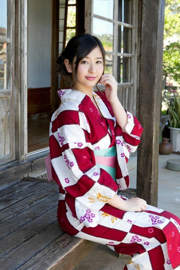 Yuri Murakami. Kimono & Yukata >> pinterest.com/yurina3c/kimono ...