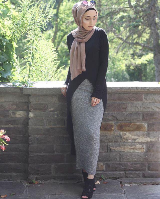 Populaire Jasmine Fares   HIJAB   Pinterest   Mode hijab, Mode femme et Tenue MC91