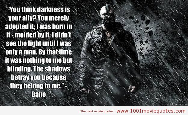 The Dark Knight Quotes: The Dark Knight Rises (2012) Movie Quote