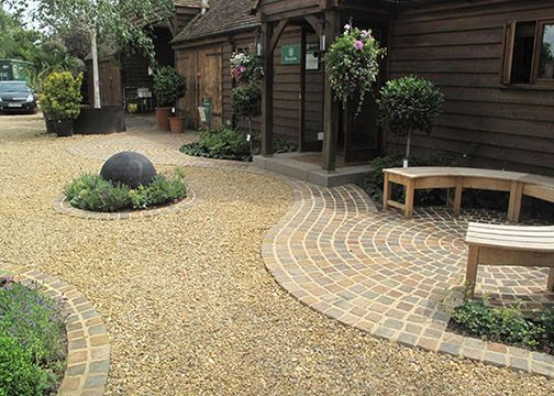 Crushed Stone Landscaping Ideas : Decorative crushed gravel landscape diy projects for